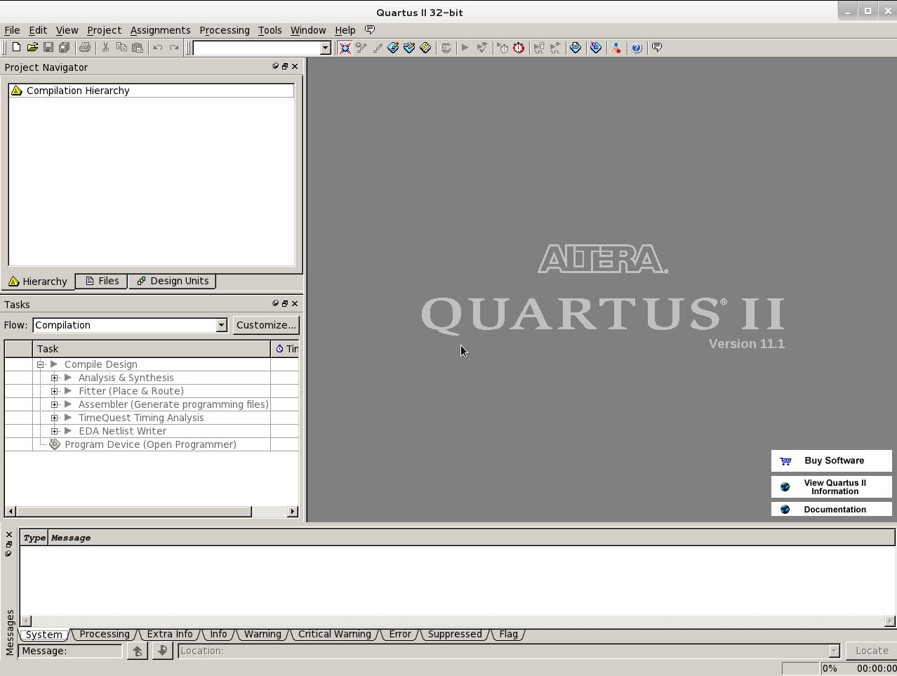 Quartus & ModelSim over GNU/Linux | هذا نحن