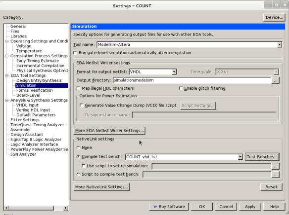 Quartus & ModelSim over GNU/Linux   هذا نحن